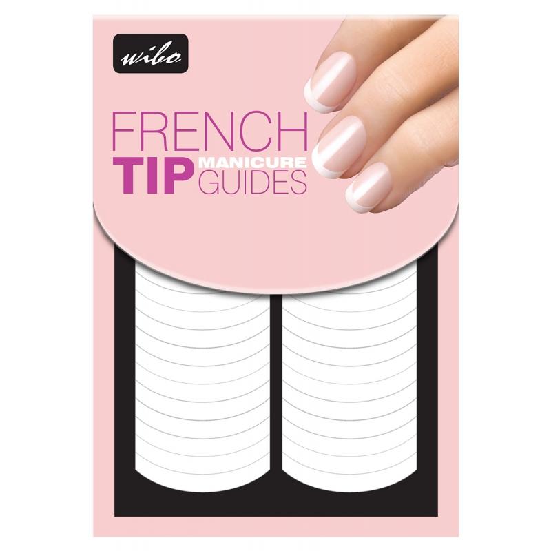 Naklejki na paznokcie french manicure